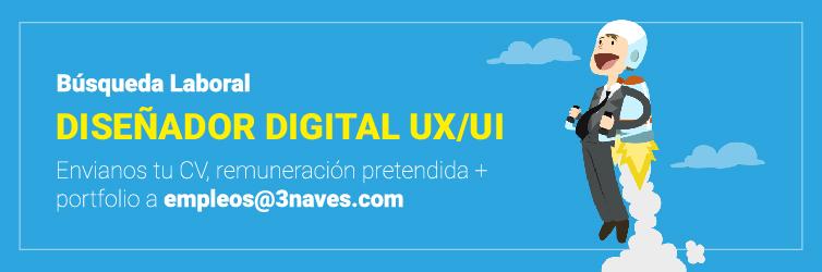 Diseñador Gráfico Digital / UI / UX