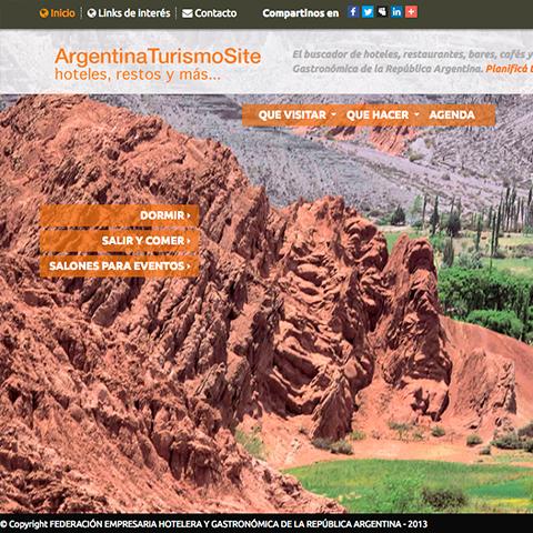 Argentina Turismo Site - Fehgra