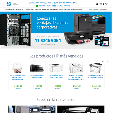 HP STORE ARGENTINA